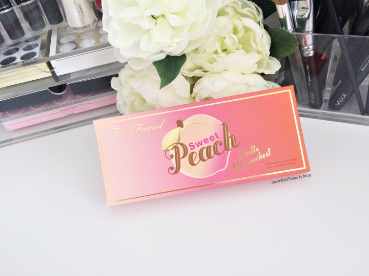 Too Faced Peach Palette France