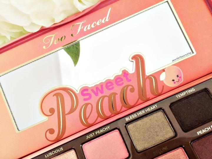 Too Faced Peach Palette Prix
