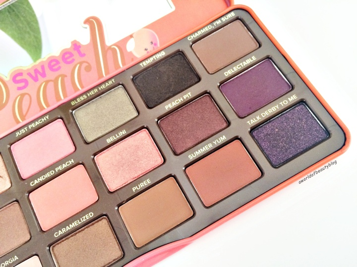 Too Faced Peach Palette Review