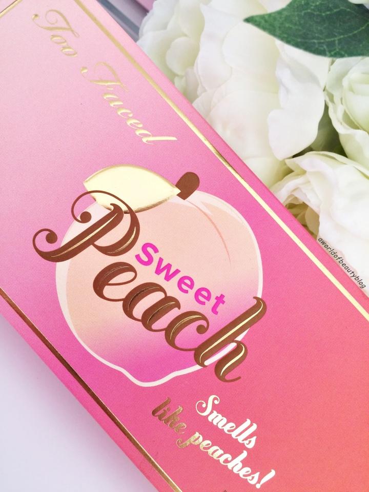 Too Faced Peach Palette Revue