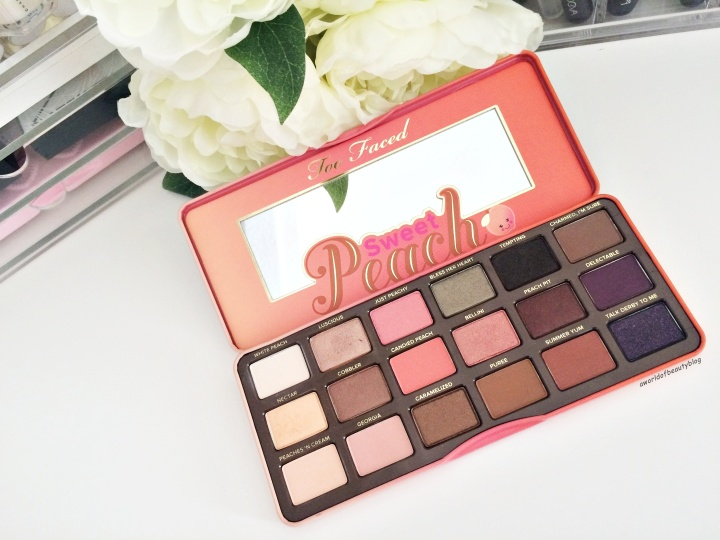 Too Faced Peach Palette Sortie